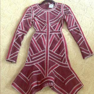 Gorgeous Herve Leger dress